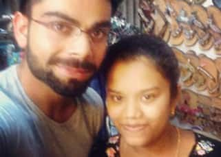 Virat Kohli clicks selfie with fan in Goa