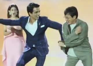 When Jackie Chan danced to Daler Mehendi's 'Tunak Tunak' with Sonu Sood during 19th Shanghai International Film Festival!