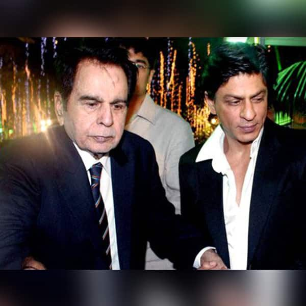 When Shah Rukh Khan gave a helping hand to Dilip Kumar