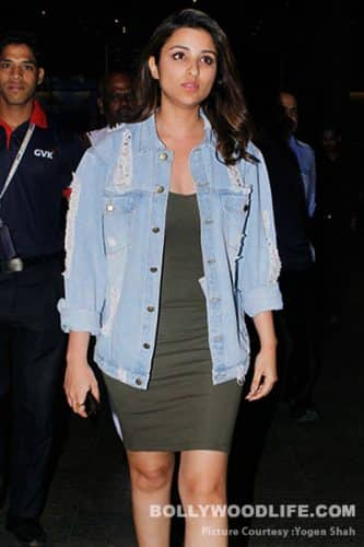 While Aamir Khan left with wife Kiran Rao, Parineeti Chopra returned from her Golmaal Again schedule - view airport pics