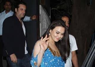 Why did Preity Zinta celebrate her birthday with just Fardeen Khan?