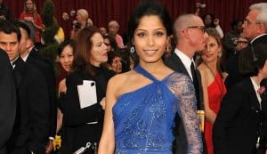 Freida Pinto signs a love story with a BAFTA-winning director