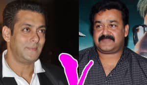 Salman to take on Mohanlal!