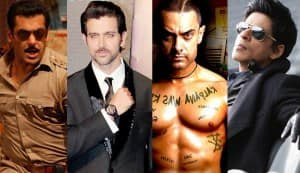 Shahrukh Khan, Salman Khan, Aamir Khan, Hrithik Roshan: Who could be Bollywood's biggest and best baddie with signature style?