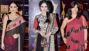 Star Guild Awards 2013: Anushka Sharma and Sridevi make you go ooh la la, Ekta Kapoor makes you squirm!