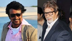 Are Rajinikanth and Amitabh Bachchan like kids in a candy shop?