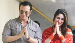 Saif Ali Khan-Kareena Kapoor kiss picture: The newlyweds are angry at breach of privacy
