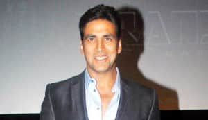 Akshay Kumar not comfortable speaking in English!