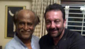 In Focus: Rajinikanth invites Sanjay Dutt for tea in Chennai!