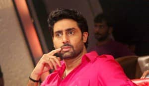 Abhishek Bachchan to play the lead in the Hindi version of 'Eega'?
