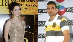 Isha Sharvani not dating Zaheer Khan anymore?