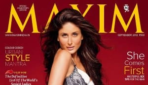 Why is Kareena Kapoor the queen of cover girls?