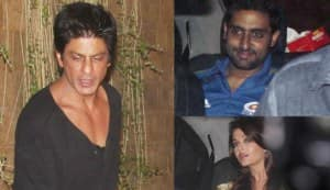 How come Abhi-Ash were at SRK's party?