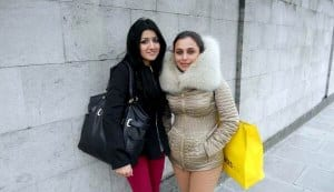 Pic: Is Rani Mukerji trying to hide behind that mink fur?