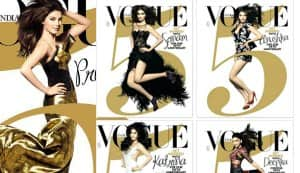 Priyanka Chopra, Katrina Kaif, Deepika Padukone, Anushka Sharma, Sonam Kapoor – who is the most fabulous VOGUE girl?