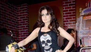 Ameesha Patel gets kinky at the launch of her production house