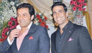 Bobby Deol and Akshay Kumar | Photos: Yogen Shah