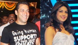 Is Salman Khan warming up to Priyanka Chopra?