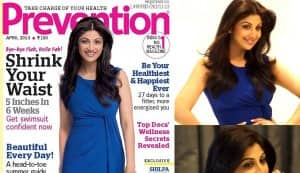 Shilpa Shetty shoots for Prevention magazine; is the yummy-mummy going de-glam?: Watch video!