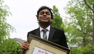 AR Rahman gets doctorate of University of Miami in Ohio