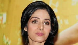 Sridevi shoots for jewellery brand Tanishq's advertisement