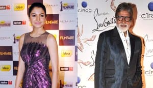 Amitabh Bachchan and Anushka Sharma meet shoe designer Christian Louboutin