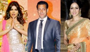 Salman Khan, Priyanka Chopra, Sridevi attend Marathi channel launch: View pics!