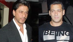 Shahrukh Khan and Salman Khan to battle over football?