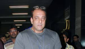 SPOTTED: Sanjay Dutt, Maanayata with their babies