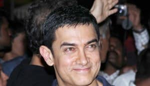 What was Aamir Khan doing in a sabzi mandi?