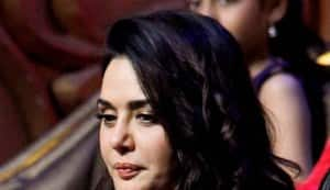 Preity Zinta promotes Ishkq in Paris on the sets of India's Best Dramebaaz