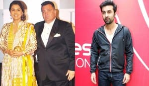 Ranbir Kapoor, Rishi Kapoor and Neetu Kapoor to share screen space for the first time in Besharam?