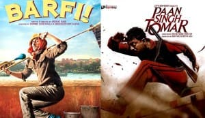 Barfi! and Paan Singh Tomar vie for Oscars, BAFTA and Golden Globes