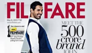 John Abraham: Johnny boy goes funky on the Filmfare cover