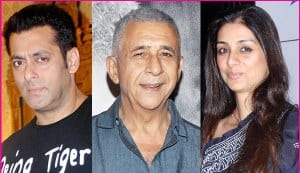 Salman Khan to team up with Naseeruddin Shah and Tabu in Sohail Khan's Radhe?