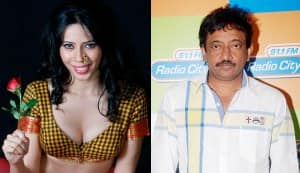 Who is telling stories about the Savita Bhabhi film? Director Ram Gopal Varma or actor Rozlyn Khan?