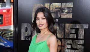 Why did girl-next-door Freida Pinto go topless?
