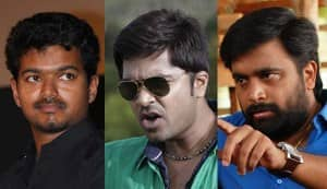 What do Kollywood stars Vijay, Simbu and Sasikumar have in common?