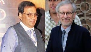 When Subhash Ghai met Steven Spielberg at the Ambani house party…