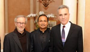 Oscar Awards 2013: Anil Ambani parties with Steven Spielberg and Daniel Day-Lewis!