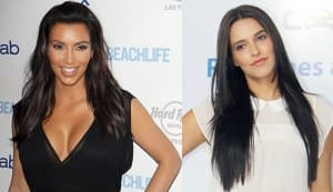Neha Dhupia & Kim Kardashian: Are they, aren't they?