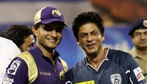 Shahrukh Khan: I'm the greatest fan of Sourav Ganguly, but I'm the God of KKR
