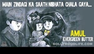 Latest Amul hoarding pays homage to Dev Anand
