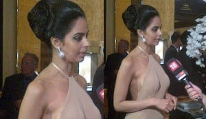Mallika Sherawat opts for a subdued look for Cannes 2012