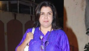 Will Farah Khan be a size-zero item girl?