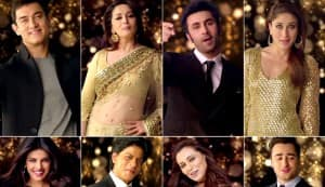 Apna Bombay Talkies song: Shahrukh Khan, Aamir Khan, Akshay Kumar, Madhuri Dixit among a medley of stars celebrating Indian cinema!