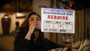 Kareena Kapoor caught smoking and drinking on the sets of 'Heroine'!