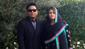 AR Rahman and Saira Banu: Happy 18th wedding anniversary!