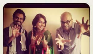 In Focus: Bipasha Basu chills out with Aatma co-star Nawazuddin Siddiqui and director Suparn Verma