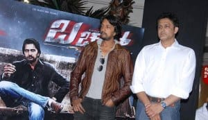Anil Kumble unveils first look of Sudeep's Bachchan